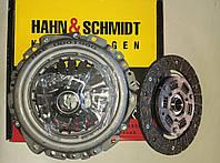 Комплект сцепления с выжимным Ваз 2108-21099,2113-2115 Hahn&Schmidt, фото 1