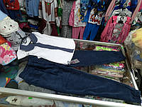 Школьные брюки для девочки р.128-158