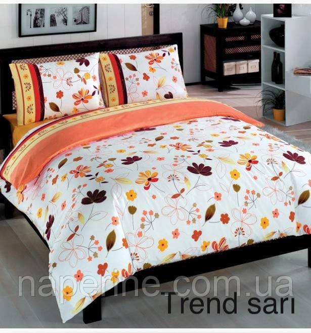 Постельное бельё евро Altinbasak Trend sari
