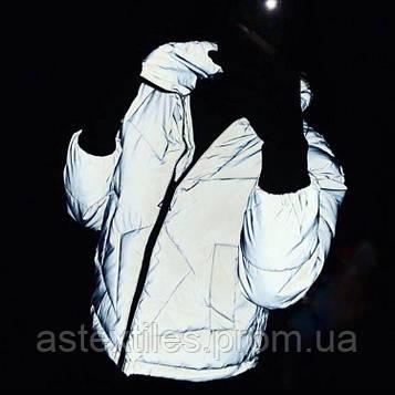 Світловідбиваюча плащова тканина (сіра)