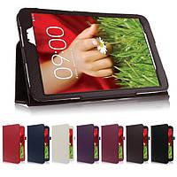 Кожаный чехол-книжка TTX с функцией подставки для LG G Pad 8 V480(V490)