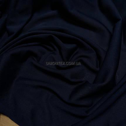 Подкладка трикотажная темно-синяя, фото 2