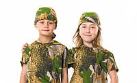 Бандана детская камуфляж Дубок от 4 до 14 лет