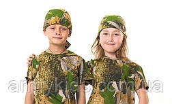 Бандана детская камуфляж Дубок от 4 до 14 лет, фото 2