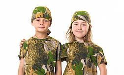Бандана детская камуфляж Дубок от 4 до 14 лет , фото 2