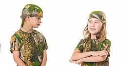 Бандана детская камуфляж Дубок, фото 3