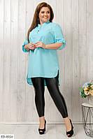 Женская блуза,блузка большого размера,красивая блуза, фото 1