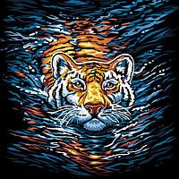 Картина за Номерами Тигр
