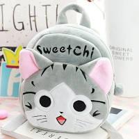 Рюкзачки для самых маленьких Детский плюшевый рюкзак 1-3 года для девочки  Sweet Chi