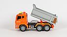 """Машинка вантажівка спецтехніка з повітряною помпою """"City service"""" (світло, звук) , фото 4"""