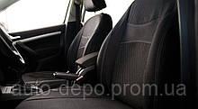 Авточохли Skoda Rapid 2012 - з/сп (цілісна) Nika