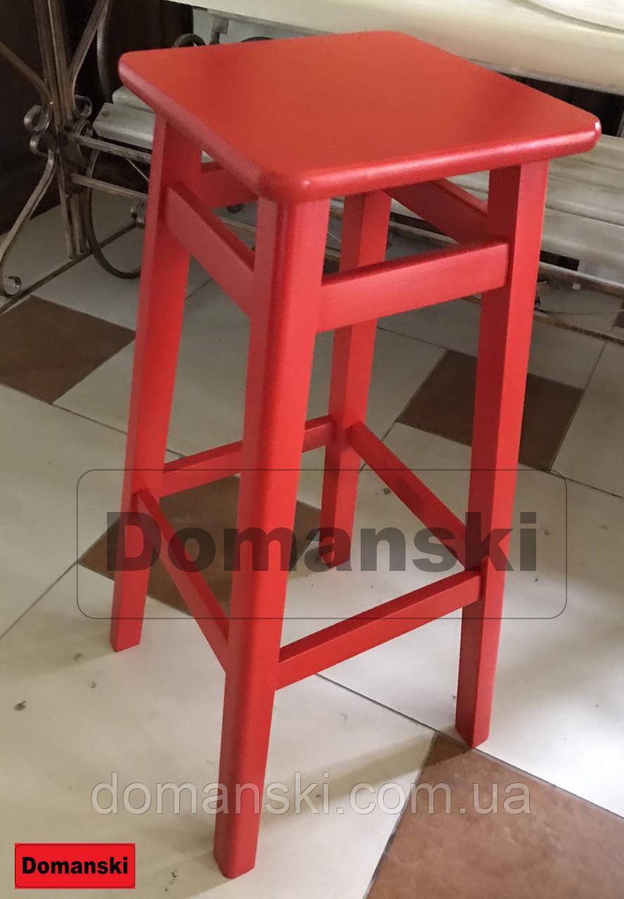 Барные стулья. Барный   табурет окрашенный 60 см высота.