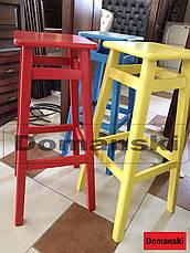 Барные стулья. Барный   табурет окрашенный 60 см высота., фото 3
