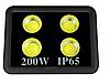Светодиодный прожектор 200Вт 4LED 6500К IP65 LMP14-200 18000LM