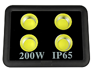 Светодиодный прожектор 200Вт 4LED 6500К IP65 LMP14-200 18000LM, фото 1