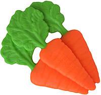 Прорезыватель для зубов силиконовый Морковки