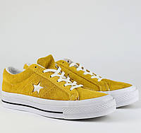 Кроссовки\кеды женские Converse x Tyler The Creator Golf le Fleur One Star OX желтые (Top replic)