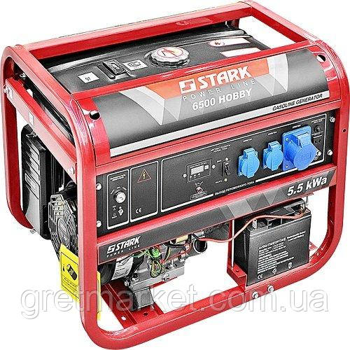 Генератор бензиновий Stark HOBBY 6500