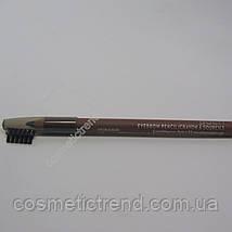 Карандаш для бровей водостойкий Eyebrow Pencil Cocoa Aden cosmetics, фото 3