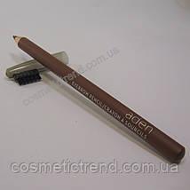 Карандаш для бровей водостойкий Eyebrow Pencil Cocoa Aden cosmetics, фото 2