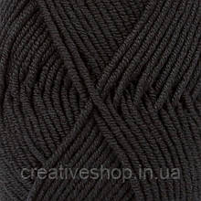 Пряжа Drops Merino Extra Fine (колір 02 black)