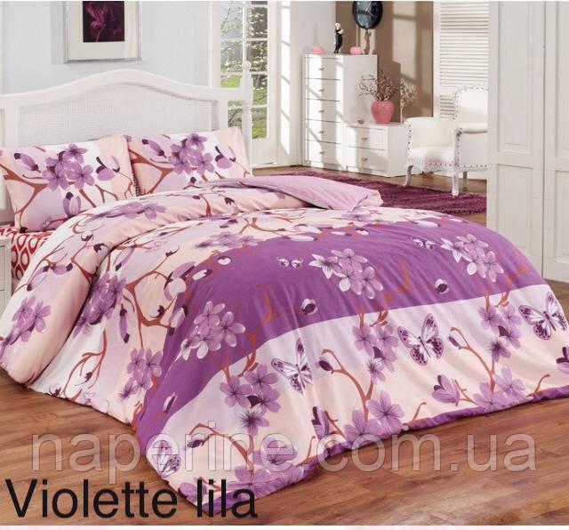 Постельное бельё евро Altinbasak Violette lila