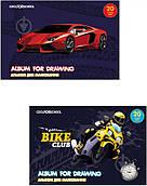 Альбом для рисования Bike Club на скобе 20 л CF60902-03