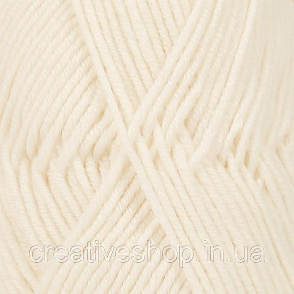 Пряжа Drops Merino Extra Fine (колір 01 off white)