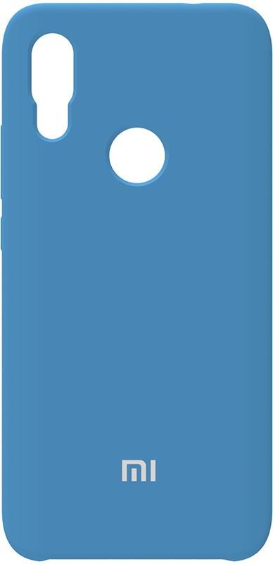 Чехол-накладка TOTO Silicone Case Xiaomi Redmi 7 Navy Blue #I/S