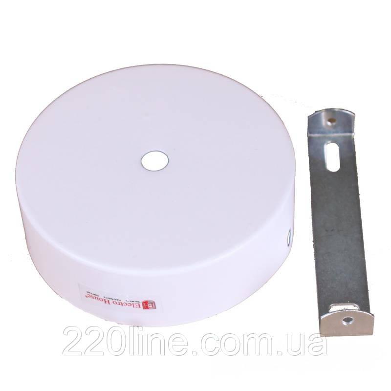 ElectroHouse Настінне кріплення біле для трекового LED світильника 15W