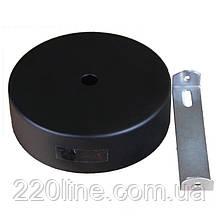 ElectroHouse Настенное крепление черное для трекового LED светильника 15W