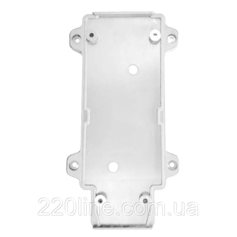 ElectroHouse Настенное крепление белое, пластик, для трекового LED светильника 30W