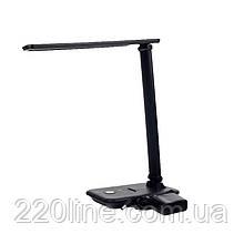 ElectroHouse LED светильник настольный 10W 2700K/4100K/6500K  700Lm чёрный