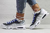 Летние Подростковые \ женские кросовки Nike air max 95 сетка