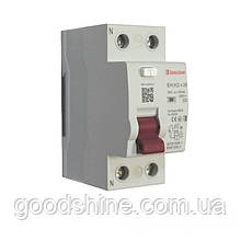 ElectroHouse УЗО 2P 25A 30mA 230-400V IP20