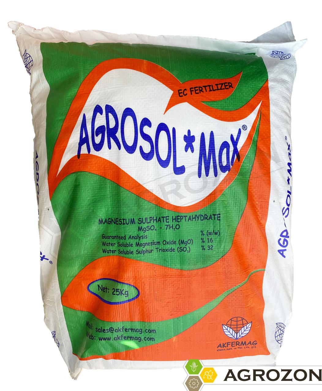 Сульфат магния AGROSOL MAX (Турция) Akfermag - 25 кг