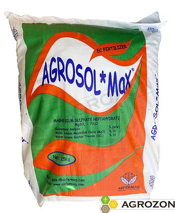 Сульфат магния AGROSOL MAX (Турция) Akfermag - 25 кг, фото 2
