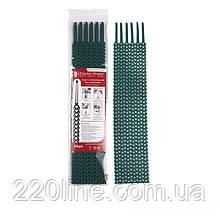 Хомут багаторазовий Зелений 10х300 мм  24шт./п.