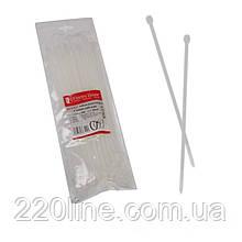 Стяжка кабельна Білий 5х250 мм  100шт./п.