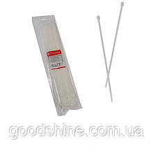 Стяжка кабельна Білий 5х350 мм  100шт./п.