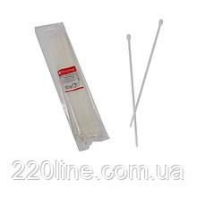 Стяжка кабельна Білий 5х400 мм  100шт./п.