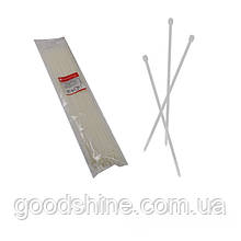 Стяжка кабельна Білий 5х500 мм  100шт./п.