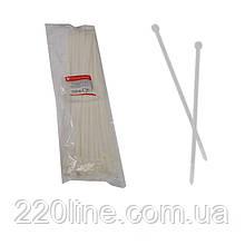 Стяжка кабельна Білий 8х550 мм  100шт./п.