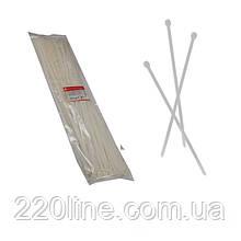 Стяжка кабельна Білий 8х750 мм  100шт./п.