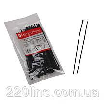 Стяжка кабельна Чорний 3х150 мм  100шт./п.