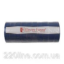 ElectroHouse ізоляційна стрічка синя 0,15 мм х 18мм х 11м