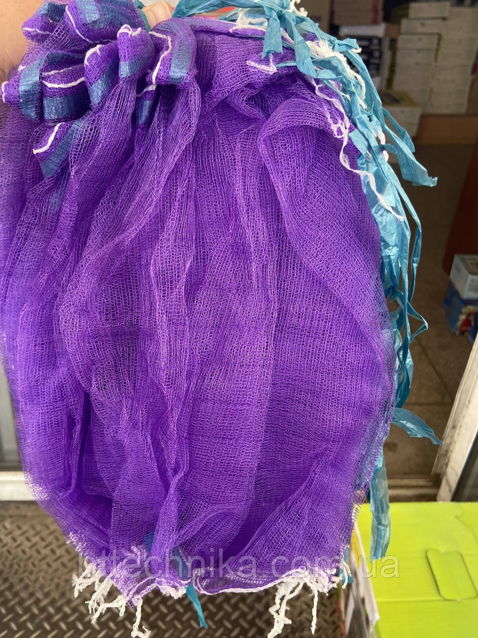 Сетка для винограда плотная фиолетовая для плодов 5 кг