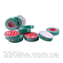 ElectroHouse Ізолента зелена 0,15 мм х 18мм х 11м