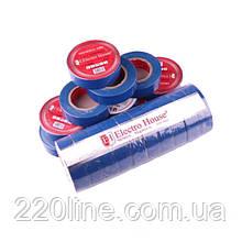 ElectroHouse ізоляційна стрічка синя 0,15 мм х 18мм х 21м