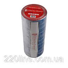 ElectroHouse ізоляційна стрічка синя 0,15 мм х 18мм х 25м